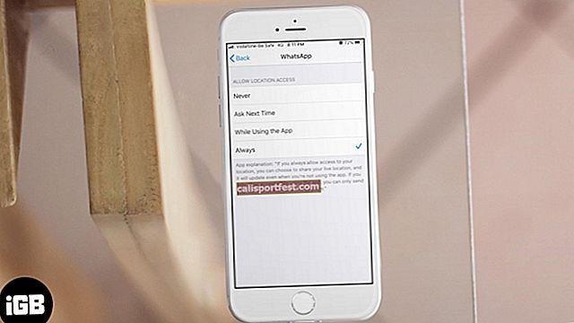 Lokacijske usluge Uvijek UKLJUČENE na iPhoneu? Evo popravka
