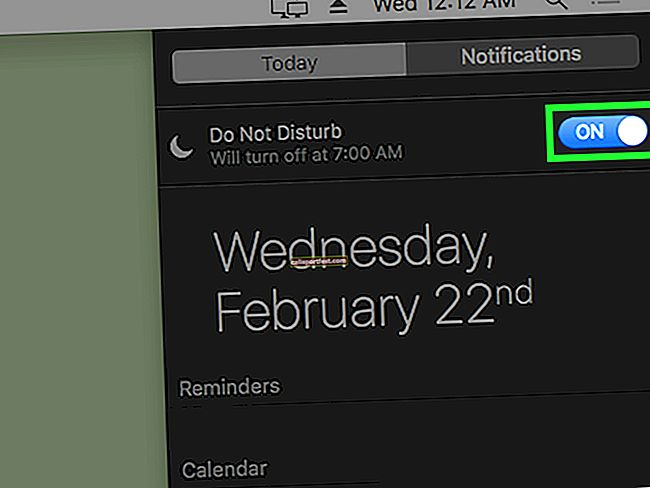 Πώς να ΕΝΕΡΓΟΠΟΙΗΣΕΤΕ Μην ενοχλείτε σε Mac