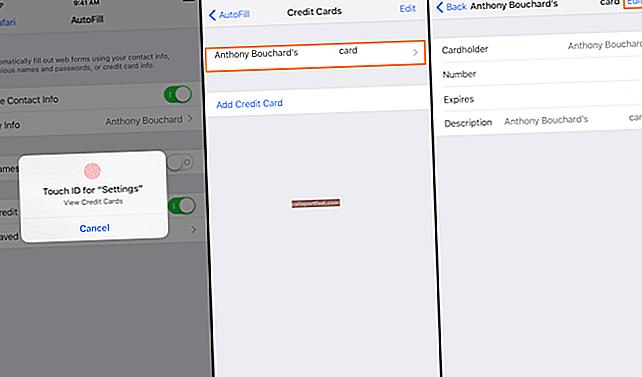 Kako urediti ili ukloniti podatke o kreditnoj kartici iz Chrome automatskog popunjavanja