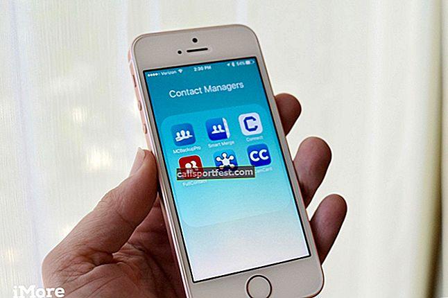 כיצד לנהל אנשי קשר מועדפים ב- iPhone