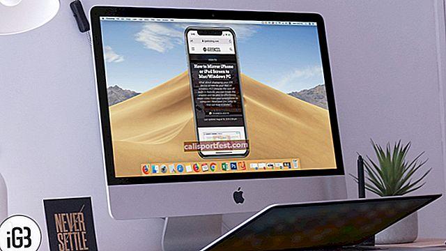 Jak zrcadlit obrazovku iPhone nebo iPad na Mac a Windows PC