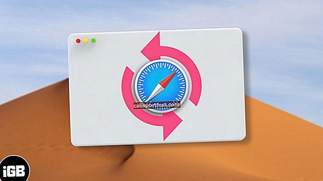 Kako vratiti izbrisane Safari oznake na Mac