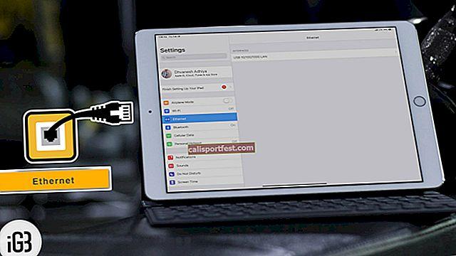 Jak používat Ethernet na iPadu Pro?