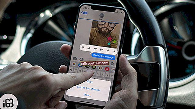 Αποστολή iMessage με Spotlight και Echo Effects στο iPhone