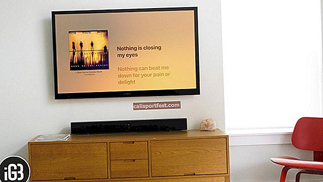 כיצד לעשות קריוקי ב- Apple TV פועל tvOS 13