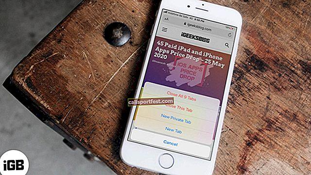 Pad Safarija na iPhoneu ili iPadu? Evo kako to popraviti