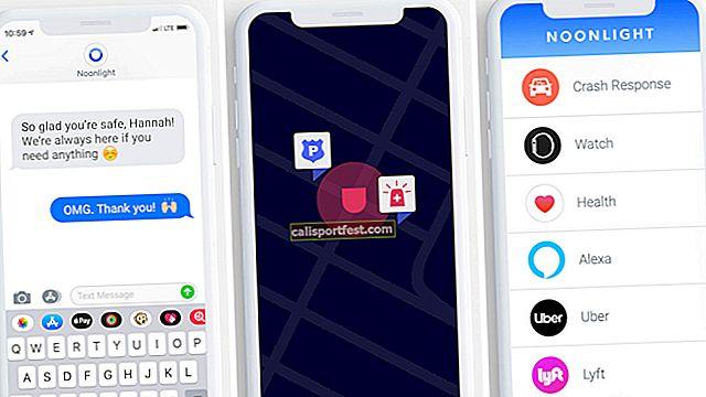 Noonlight - ranije SafeTrek iPhone aplikacija