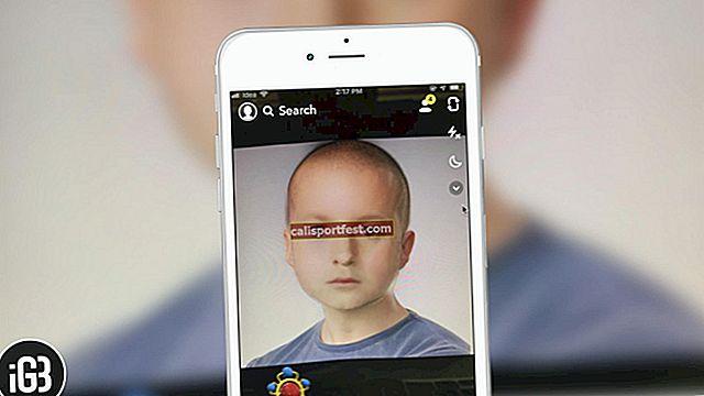 Jak používat Snapchat Baby Filter na iPhone a Android