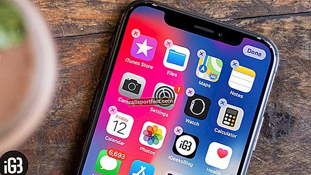 Kako zaustaviti miganje ikonama aplikacija na iPhoneu X serije