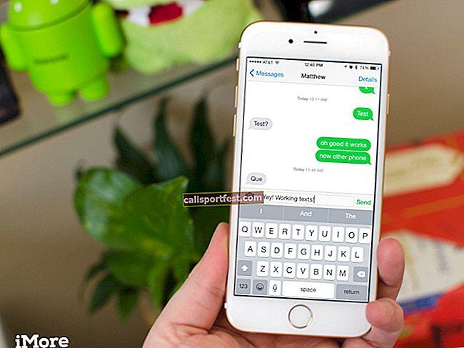 Πώς να στείλετε μήνυμα κειμένου αντί για iMessage στο iPhone