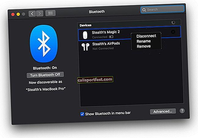 כיצד לשנות את שם עכבר הקסם של אפל ב- Mac