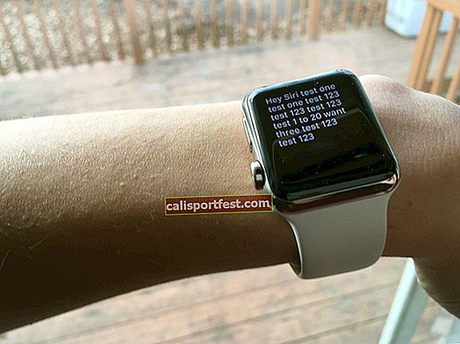 כיצד להתקין ולהפעיל את היי סירי ב- Apple Watch