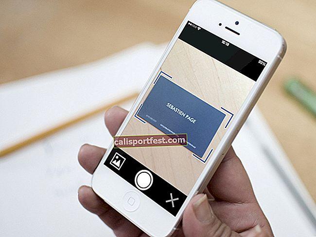 Najbolji čitači i skeneri iPhone posjetnica 2021