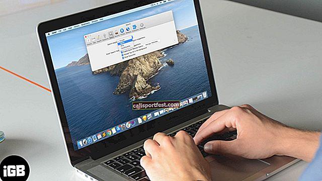Jak změnit vyhledávací modul Safari na Macu