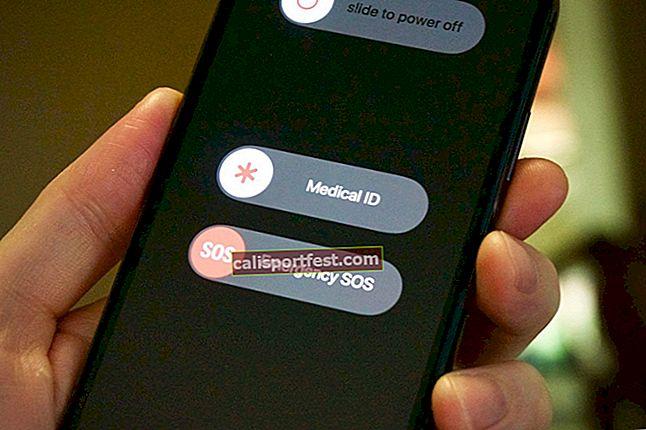 Jak nastavit nouzové lékařské ID na iPhone