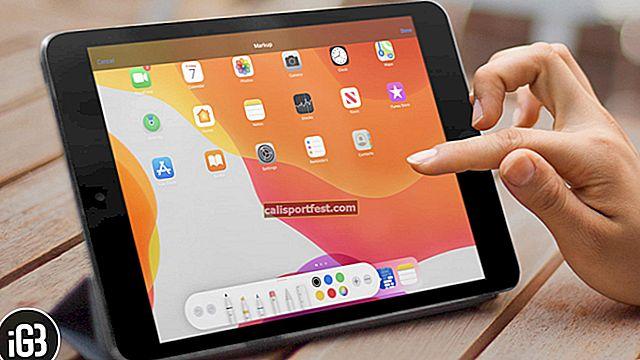 כיצד להשתמש בסימון ב- iPad וב- iPhone