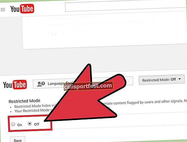Kako uključiti ili isključiti ograničeni način rada na YouTubeu