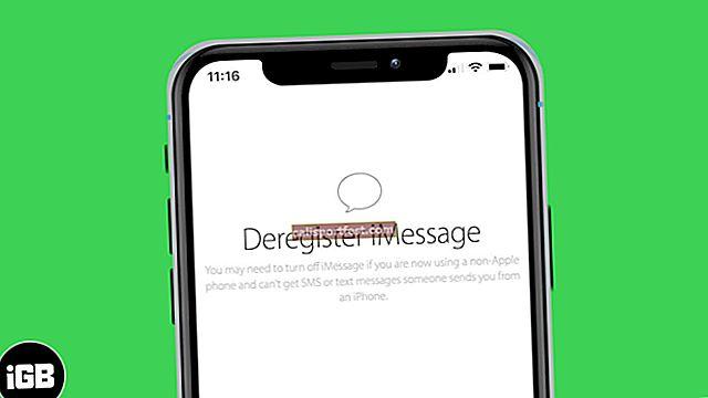 Kako odjaviti iMessage na iPhoneu ili na mreži