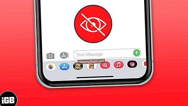 Kako ukloniti ili sakriti ladicu aplikacije u aplikaciji za poruke za iPhone