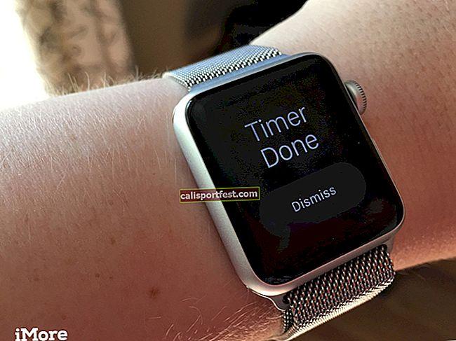 Kako postaviti timer na Apple Watchu