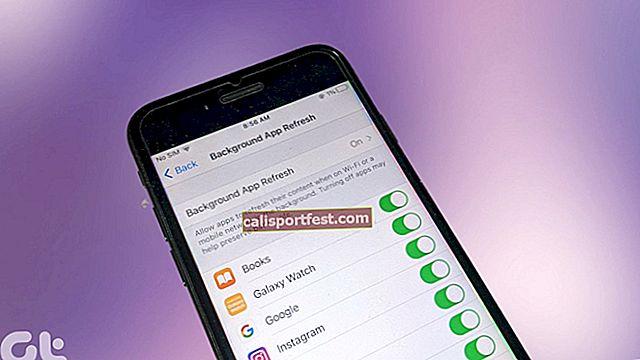 Omogućite osvježavanje aplikacije u pozadini na WiFi-u na iPhoneu ili iPadu