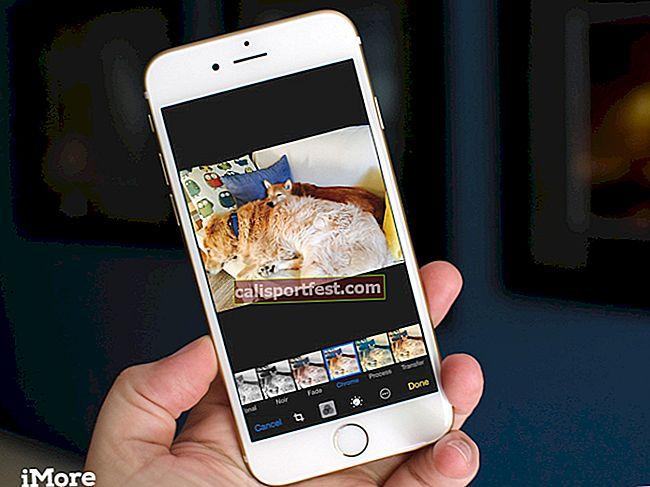 כיצד להסיר מסננים ואפקטים מתמונות באייפון