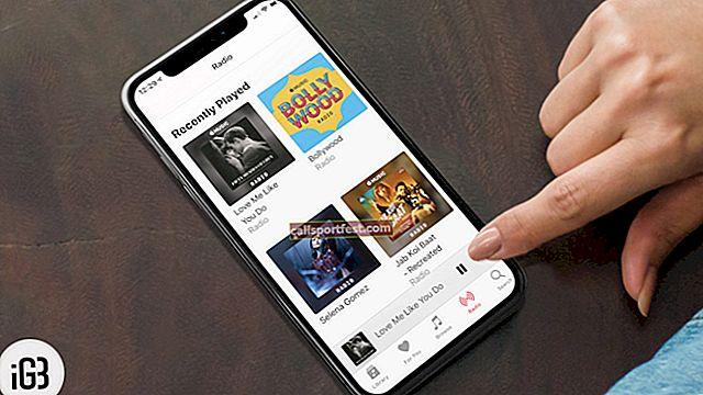 Kako stvoriti vlastitu radio stanicu u Apple Glazbi