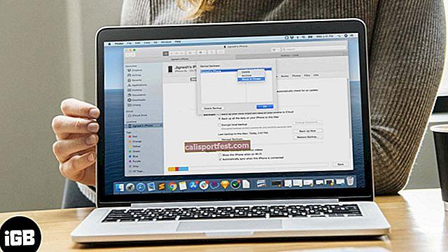 Kako promijeniti sigurnosnu kopiju iPhonea na Macu i Windowsima?