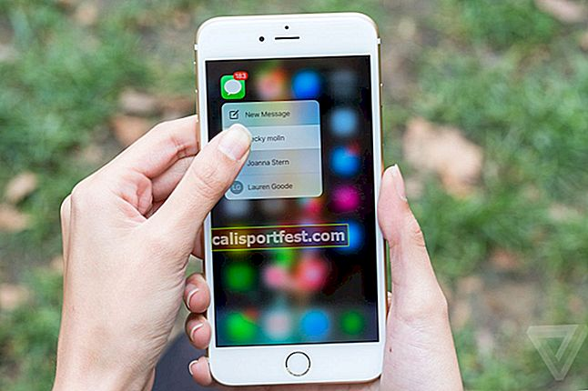 Kako omogućiti / onemogućiti 3D dodir na iPhoneu 6s i 6s Plus
