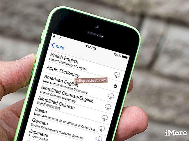 Jak přidat slovníky na iPhone a iPad