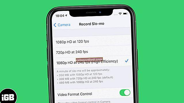 Kako promijeniti usporenu brzinu video snimanja na iPhoneu