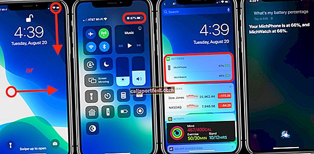 Jak zobrazit procento baterie na iPhone (všechny modely)