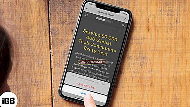 Jak zavřít všechny karty Safari najednou na zařízeních iPhone a iPad
