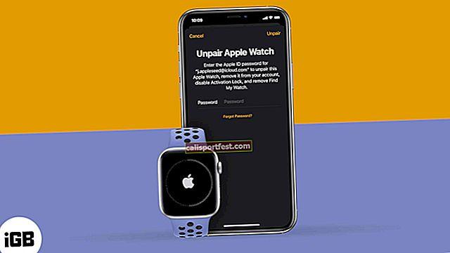 Kako razdvojiti Apple Watch s iPhoneom ili bez njega