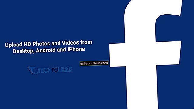 Nahrávejte HD fotografie a videa na Facebook z iPhone nebo iPadu