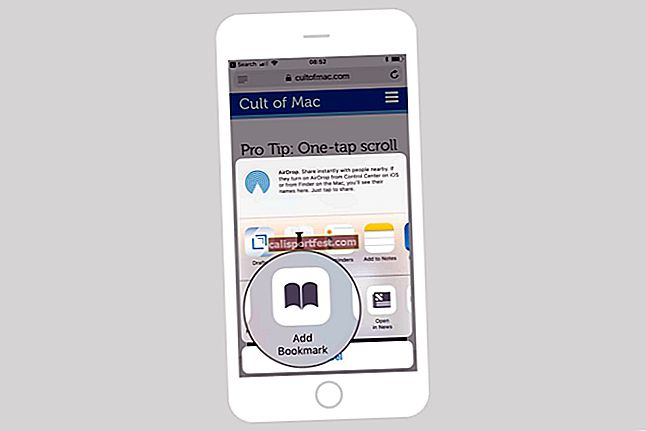 Kako dodati ili izbrisati favorite u Safariju na iPhoneu