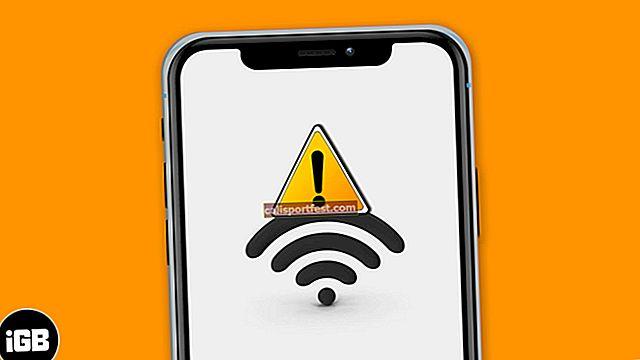 WiFi ne radi u iOS-u 14 na iPhoneu ili iPadu? 10 načina da se to popravi!