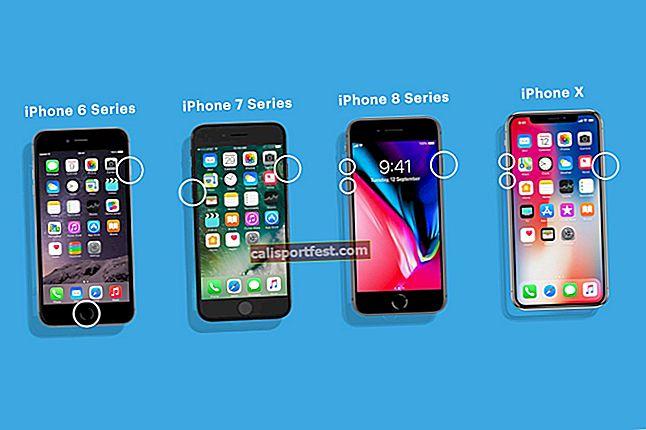 Kako prisilno ponovno pokrenuti iPhone i iPad (svi modeli)