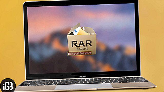 Kako lako otvoriti RAR datoteku na Macu