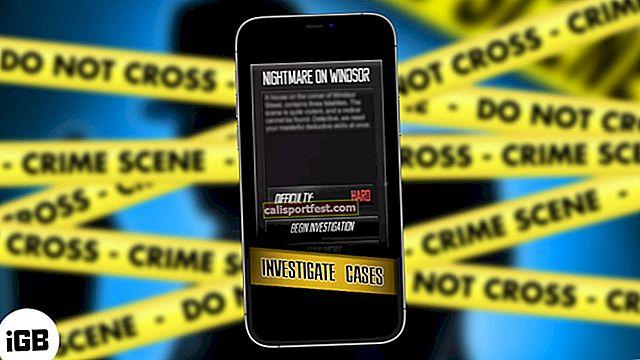 Τα καλύτερα παιχνίδια ντετέκτιβ για iPhone και iPad το 2021