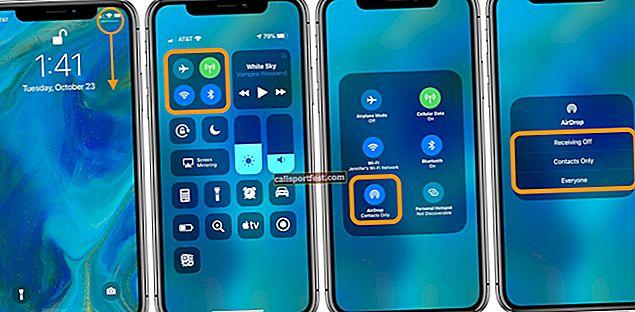 כיצד להשתמש ב- AirDrop באייפון ובאייפד