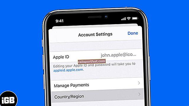 Kako promijeniti Apple Store državu ili regiju na iPhoneu, iPadu i Macu