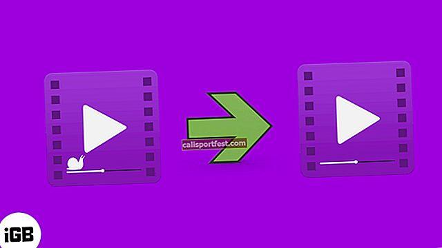 Πώς να μετατρέψετε το βίντεο αργής κίνησης σε κανονικό βίντεο σε iPhone και iPad