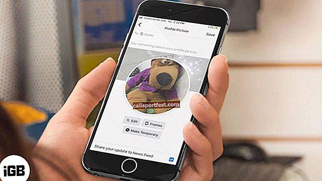 Πώς να προσθέσετε μια προσωρινή εικόνα προφίλ Facebook