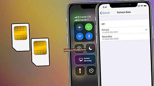 כיצד להשתמש ב- SIM כפול ב- iPhone Xs Max, Xs ו- iPhone XR