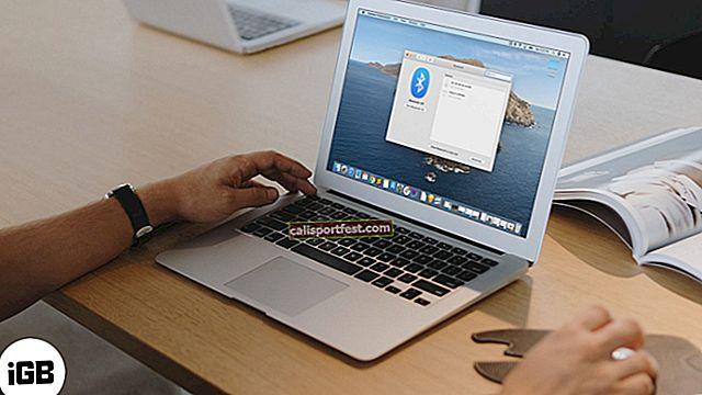 Kako ispraviti pogrešku Bluetooth nedostupne na Macu
