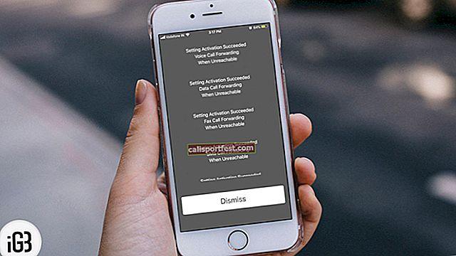 Jak používat podmíněné přesměrování hovorů na iPhone