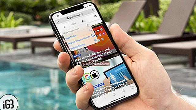 Jak požádat o web v Safari v iPhonu nebo iPadu