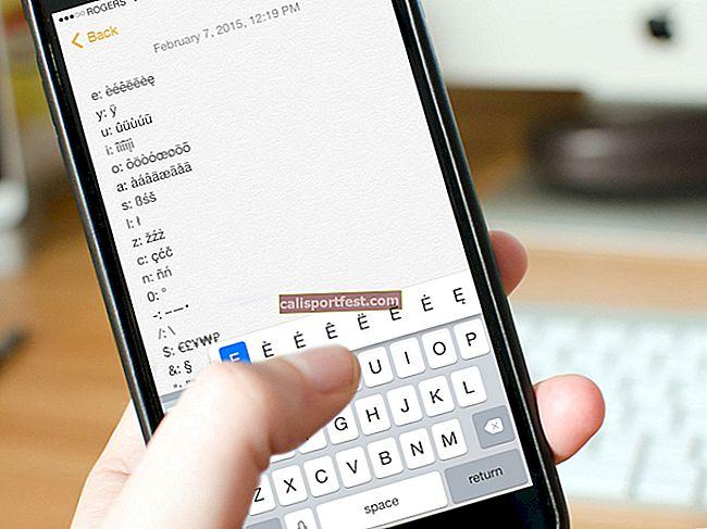 Kako dodati posebne znakove i simbole s tekstom na iPhone i iPad